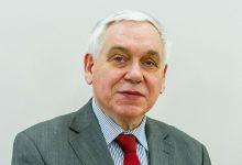 Photo of Profesor Józef Kania pełniącym obowiązki Rektora PWSZ w Tarnowie