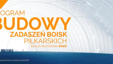 Photo of Rusza Program budowy zadaszeń boisk piłkarskich – EDYCJA PILOTAŻOWA 2020