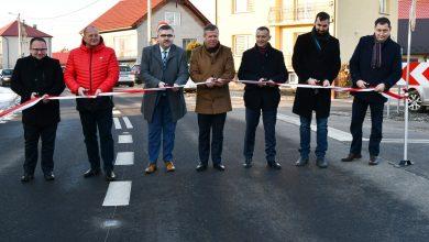 Photo of Uroczyste otwarcie drogi w Drwini