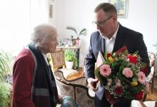 Photo of Jubileusz 103 urodzin Pani Stanisławy Barbary Żurek z Brzeska / zdjęcia