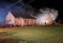 Photo of Maszkienice. Pożar budynków gospodarczych / zdjęcia