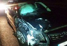 Photo of Wypadek na autostradzie A4 – kolizja 4 samochodów / 28 lutego 2020