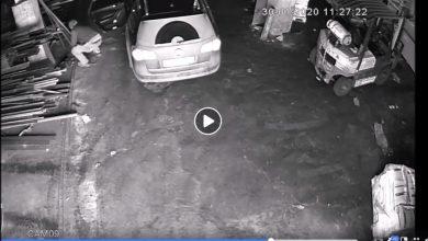 Photo of Szczurowa / Ukradł szlifierkę – wszystko nagrały kamery monitoringu / video