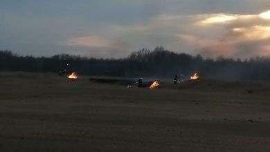 Photo of Bucze / Pożary traw.Piromani niestety wrócili… / 18 lutego 2020 r.