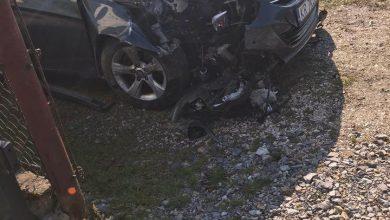 Photo of Jadowniki / Nietrzeźwy kierowca wjechał w słup telefoniczny / 5 marca 2020 r.