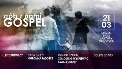 Photo of Bochnia / Nabór do chóru Gospel (sekcja młodzieżowa i sekcja dorosłych)