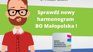 Photo of BO Małopolska. Składanie zadań przeniesione na maj i czerwiec