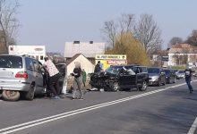 Photo of Brzesko. Czołowe zderzenie samochodów na DK 75 / zdjęcia / 28 marca 2020 r.