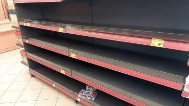 Photo of Koronawirus – puste półki w brzeskich marketach