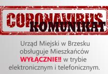 Photo of Koronawirus. Urząd Miejski w Brzesku obsługują mieszkańców wyłącznie w trybie elektronicznym i telefonicznym