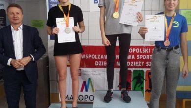 """Photo of NATALIA GICALA Z BRZESKIEJ """"DWÓJKI"""" WICEMISTRZYNIĄ MAŁOPOLSKI"""