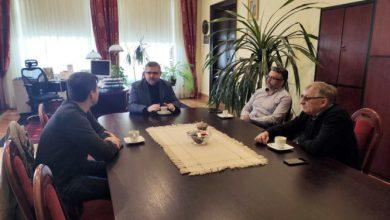 Photo of Bochnia. Starosta spotkał się z przedstawicielami branży handlowej