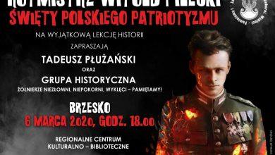 Photo of Lekcja historii o rotmistrzu Pileckim / 6 marca 2020 r.