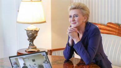 Photo of Wideokonferencja Pierwszej Damy nt. działalności Domu Pomocy Społecznej w Bochni