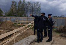 Photo of Wizyta komendanta wojewódzkiego na budowie komisariatu w Wojniczu / zdjęcia
