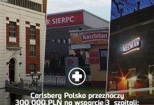 Photo of Koronawirus / Carlsberg Polska przekazał 100 000 zł dla Szpitala w Brzesku