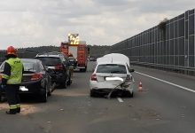 Photo of Kolizje i stłuczki na autostradzie A4 koło Brzeska/ 25 kwietnia 2020 r.