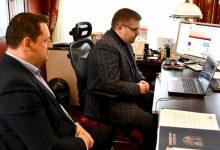 Photo of Wideokonferencja z władzami partnerskiego powiatu