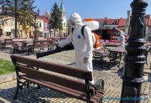 Photo of Dezynfekcja miejsc publicznych, wiat przystankowych i ławek na terenie Gminy Brzesko