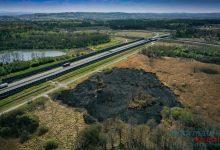 Photo of Mokrzyska / Poruszający widok pogorzeliska na drodze serwisowej / zdjęcia oraz video