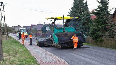 Photo of Przyborów. Trwają prace związane z przebudową drogi powiatowej / zdjęcia