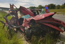 Photo of Sterkowiec / Wypadek na autostradzie A4 – najechanie na tył ciężarówki / 28 maja 2020 r.