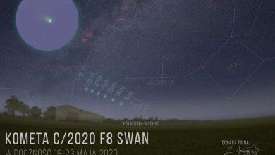 Photo of Kącik astronomiczny / Kometa SWAN oraz Droga Mleczna na nocnym niebie / 20 maja 2020