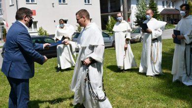 Photo of Bochnia. Starosta podziękował Dominikanom