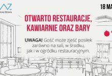 Photo of Koronawirus/ Ponownie otwarte restauracje, bary i kawiarnie / 18 maja 2020 r.