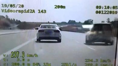 Photo of Tarnów / Jechał na autostradzie A-4 aż 237km/h! / video
