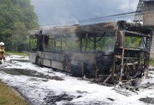 Photo of W Porębie Spytkowskiej spłonął autobus MPK / 28 maja 2020 r. / video