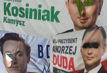 """Photo of """"Brudna"""" kampania prezydencka – zniszczone banery wyborcze"""