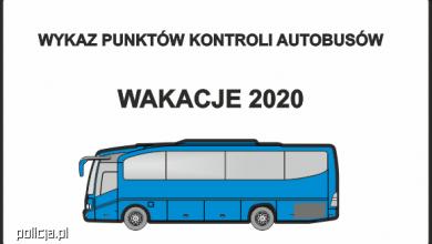 Photo of Wykaz punktów kontroli autobusów – Wakacje 2020