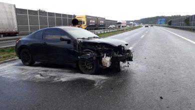 Photo of Ślisko i niebezpiecznie na autostradzie A4 na węzłach Brzesko i Bochnia /25 czerwca 2020 r.