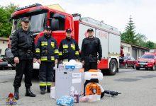 Photo of Brzesko. Opryskiwacze, płyny wirusobójcze oraz środki ochronne dla jednostek OSP