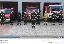 """Photo of Strażacy """"pompują"""" dla Wojtusia chorego na rdzeniowy zanik mięśni / video"""
