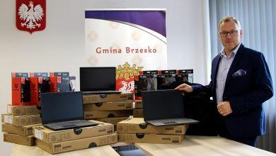 Photo of Brzesko. Laptopy do zdalnej nauki