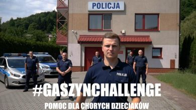 Photo of #GaszynChallenge. Policjanci z Czchowa pomogli Tosi / video