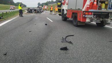 Photo of Zaśnięcie najbardziej prawdopodobną przyczyną porannego wypadku na A4