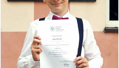 Photo of Kolejny sukces Karola Bratko absolwenta Szkoły Podstawowej w Zaborowie