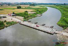 Photo of Most pontonowy w Świniarach zamknięty