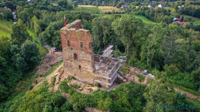 """Photo of Realizacja zadania pn. """"Zabezpieczenie ruin zamku w Melsztynie – etap III"""""""