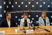 Photo of O rozwoju PWSZ z dziennikarzami