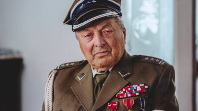 Photo of Pułkownik Zdzisław Baszak ukończył 100 lat