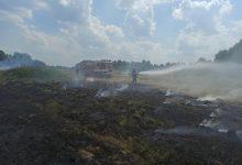 Photo of Bucze / Pożar ścierniska / 8 sierpnia 2020 r.