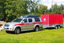 Photo of Specjalistyczny namiot trafił do jednostki OSP Wojnicz / zdjęcia