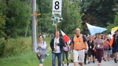 Photo of Grupa nr 8 szła w sztafecie pielgrzymkowej / 19 sierpnia 2020 r.