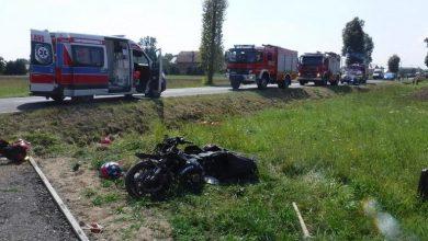 Photo of Śmiertelny wypadek 19-letniego motocyklisty w Baczkowie / zdjęcia
