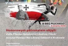 Photo of Zakończyły się zapisy na III Bieg Pileckiego w Jodłówce / 8 sierpnia 2020 r.
