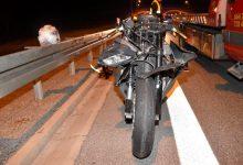 Photo of Groźny wypadek motocyklisty na węźle Brzesko / zdjęcia / 27 września 2020 r.